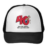 40th birthday hats