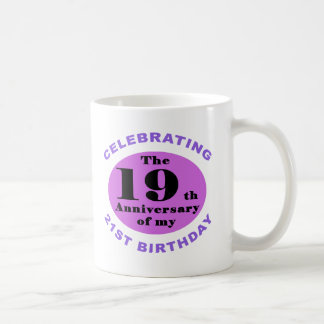 40th Birthday Humor Coffee Mug