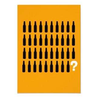 40th Birthday Invitations - Beer Cheers!