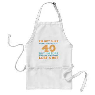 40th Birthday Legend Standard Apron
