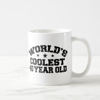 40th Birthday Mugs