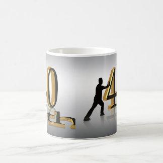 40th Birthday mug 3D text