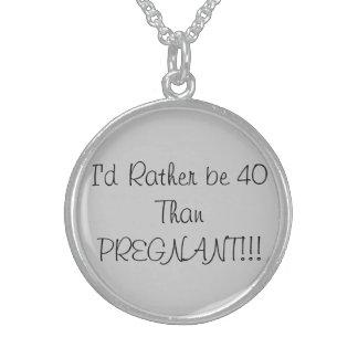 40th Birthday Necklace