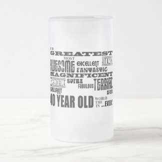 40th Birthday Party Greatest Forty Year Old Coffee Mug