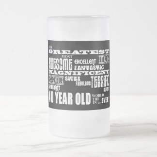 40th Birthday Party Greatest Forty Year Old 16 Oz Frosted Glass Beer Mug