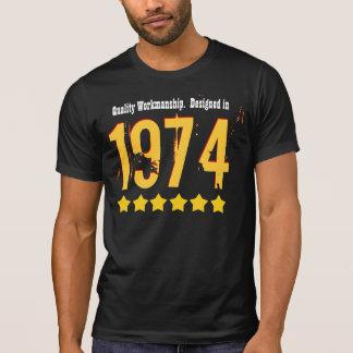 40th Birthday QUALITY WORKMANSHIP 1974 ANY YEAR V8 T Shirts