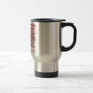 40th Birthday - Sister Poem Stainless Steel Travel Mug