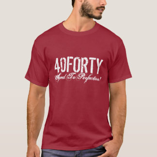 40th Birthday t shirt for men | Age to perfection