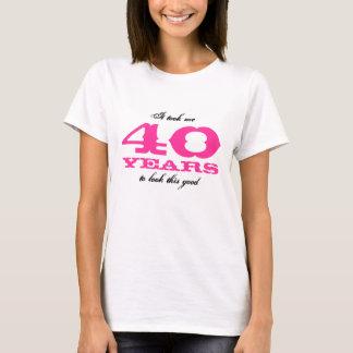 40th Bitrthday shirt for women | Personalizable