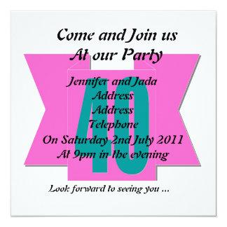40th Party Invitation
