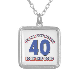 40year old birthday designs custom jewelry