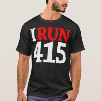 415 SHIRT/WHT-RED T-Shirt