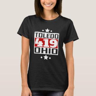 419 Toledo OH Area Code T-Shirt