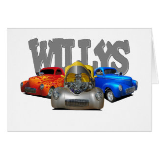 41 willys card