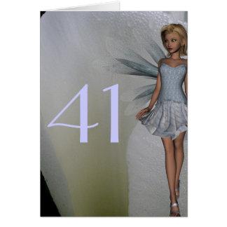 41st Birthday Card