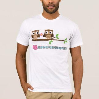 41st Wedding Anniversary Owls T-Shirt
