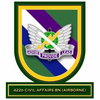 422d Civil Affairs Battalion - Airborne flash Acrylic Cut Out