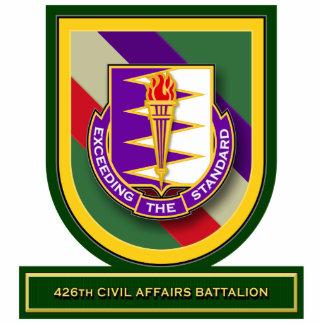 426th Civil Affairs Battalion flash Standing Photo Sculpture