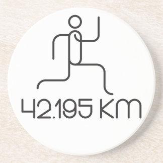 42.195 km marathon distance coaster
