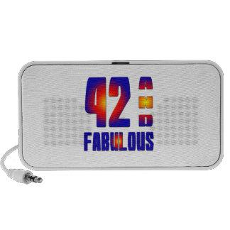 42 And Fabulous Portable Speaker