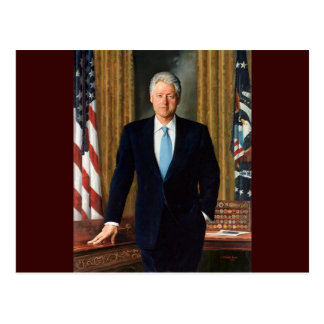 42 Bill Clinton Postcard