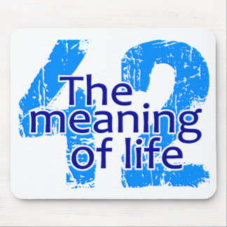 42 Meaning of Life mousepad