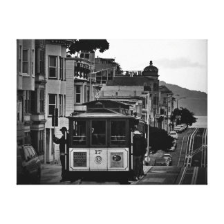 42 X 32 BLACK & WHITE SAN FRANCISCO CITY PRINT