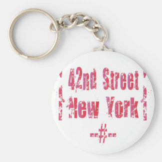 42nd street. key ring