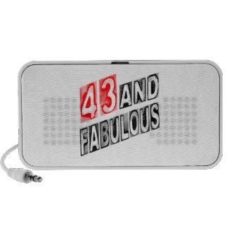 43 And Fabulous Portable Speaker