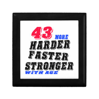 43 More Harder Faster Stronger With Age Gift Box