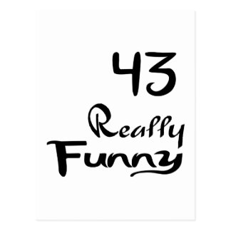 43 Really Funny Birthday Designs Postcard
