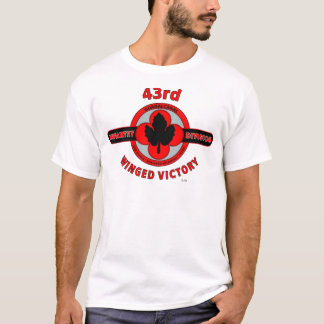 """43RD INFANTRY DIVISION """"WINGED VICTORY"""" T-Shirt"""