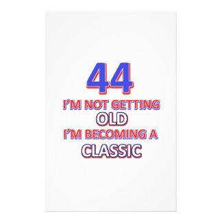 44 birthday designs stationery