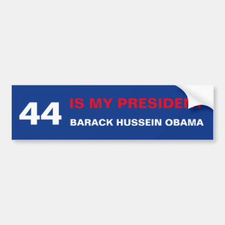 44 Obama Bumper Sticker
