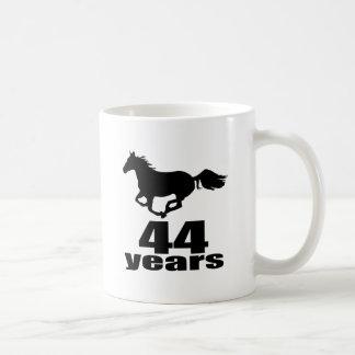 44 Years Birthday Designs Coffee Mug