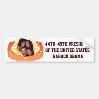 44th-45th-President,Barack Obama_ Bumper Sticker