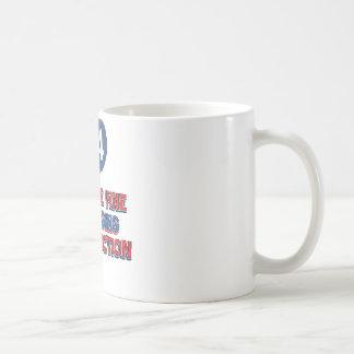 44th birthday designs coffee mug