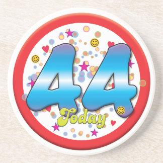 44th Birthday Today Drink Coaster