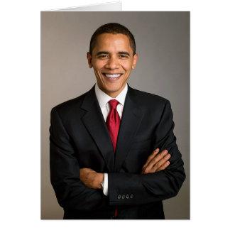 44th President Barack Obama Greeting Card