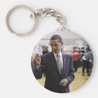 44th President Barack Obama Key Ring