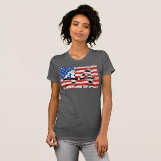 44th President Obama Fan Flag T-Shirt