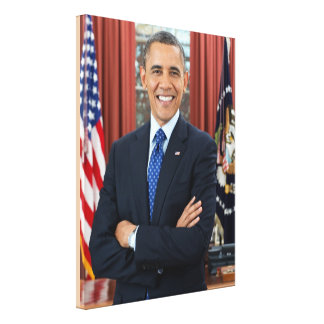 44th President Of the United States Barack Obama Canvas Print