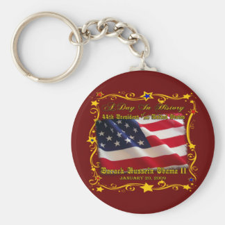 44th President of the USA Gifts and Apparel Keychain