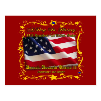 44th President of the USA Gifts and Apparel Postcard