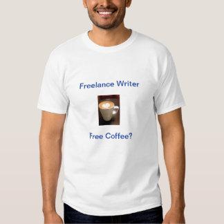 450px-Coffeee_img451, Freelance Writer, Free Co... T Shirt