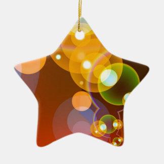 451 DIGITAL FRACTALS GEOMETRIC ART BACKGROUNDS WAL CHRISTMAS TREE ORNAMENT