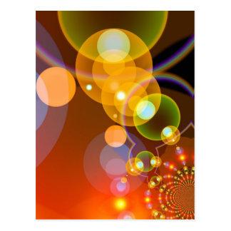 451 DIGITAL FRACTALS GEOMETRIC ART BACKGROUNDS WAL POST CARDS