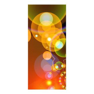 451 DIGITAL FRACTALS GEOMETRIC ART BACKGROUNDS WAL CUSTOMIZED RACK CARD
