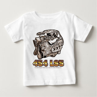 454 LS5 Engine Baby T-Shirt