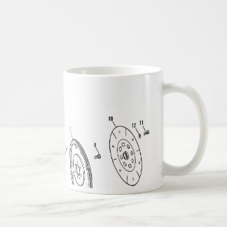 454ci  Piston Diagram Coffee Mug